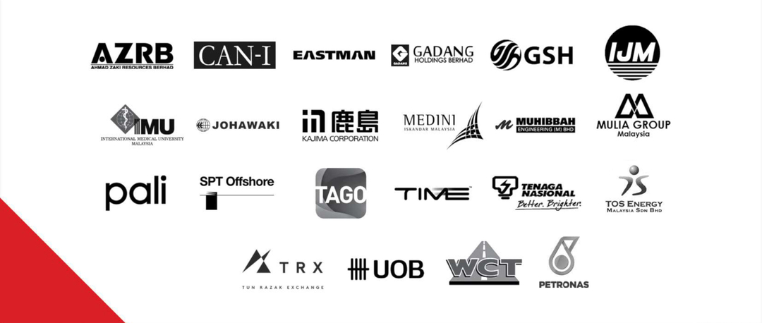 Our clientele of magnificent companies